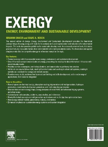 Exergy: Energy, Environment and Sustainable Development