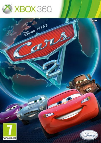 CARS 2 XBOX 360 - 2 Spiel 360 Xbox Cars