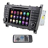 Qsicisl double DIN Android 7.1 for Benz W203 7 Inch En Dash HD pantalla táctil coche reprodu...