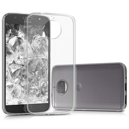 kwmobile Motorola Moto G5S Plus Hülle - Handyhülle für Motorola Moto G5S Plus - Handy Case in Transparent