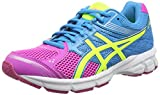 ASICS Gel-Pulse 7 GS, Chaussures de Running Entrainement Mixte Adulte - Rose (Pink Glow/Flash Yellow/turquoi 3507), 38 EU