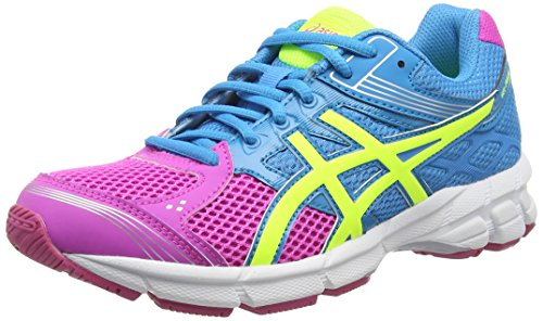 ASICS - Gel-Pulse 7 Gs, Scarpe Da Corsa da unisex - adulto, rosa (pink glow/flash yellow/turquoi 3507), 38 EU