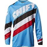 Shift Brustpanzer Jersey Whit3 Tarmac, Blue, Größe S