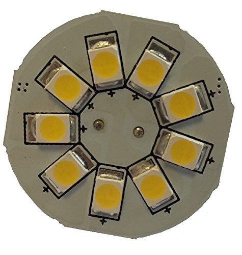 Preisvergleich Produktbild BRILLE LED Funkelt und LED G4 T9BC 2 Leds,  warm weiß,  2 Stück