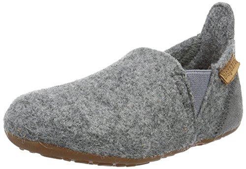 Bisgaard Unisex-Kinder Wool Sailor Slipper, Grau (70 Grey), 26 EU
