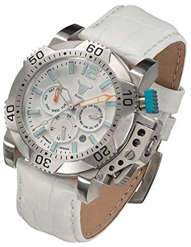 Armbanduhr Bison -No. 5- BI0005WH