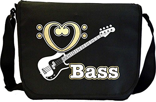 Bass Guitar Love Bass - Sheet Music Document Bag Musik Notentasche MusicaliTee