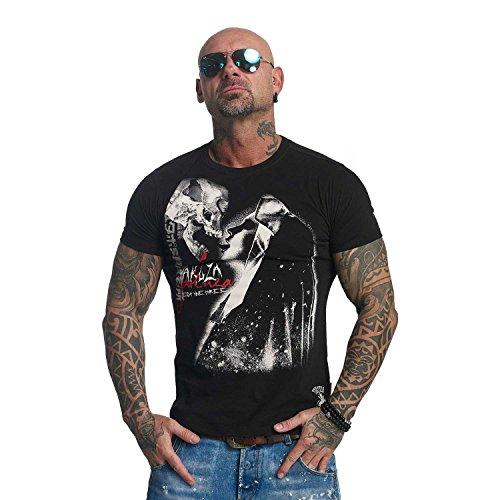 Yakuza Original Herren Deadly Kiss T-Shirt (Kiss T-shirt Print)