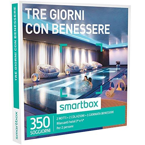 smartbox - Cofanetto Regalo - Tre Giorni con Benessere - 350 ...