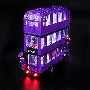 BRIKSMAX Kit di Illuminazione a LED per Lego Harry Potter Nottetempo,Compatibile con Il Modello Lego 75957 Mattoncini da… 0716852280582 LEGO