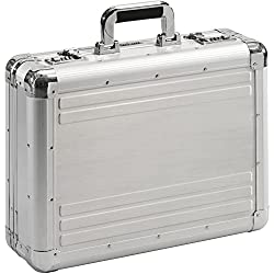 Aktenkoffer Attaché Koffer Alu Aluminium Silber Mit Zahlenschloss XL