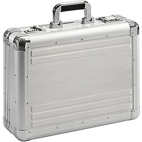 Aktenkoffer Aluminium silber Aluminiumkoffer Alukoffer Aluaktenkoffer Aluattache Attachekoffer XL