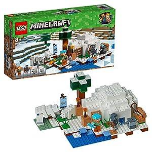 LEGO Minecraft-El iglú Polar Creative Adventures Juego de construcción, (21142)