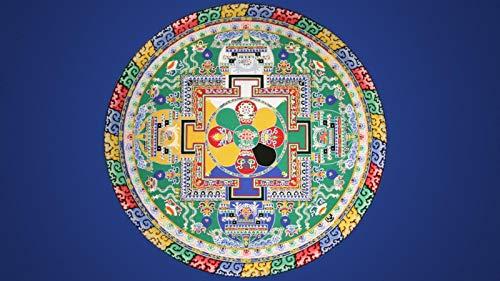 Rompecabezas 1500 Piezas Adultos De Madera Niño Puzzle-Mandala Redonda-Juego Casual De Arte Diy Juguetes Regalo Interesantes Amigo Familiar Adecuado