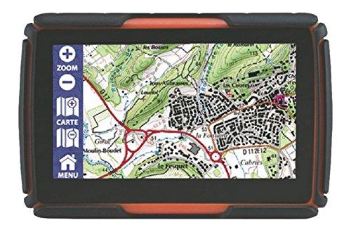 """Gps Globe 430 GPS Tout-Terrain 4,3"""" Orange/Noir"""