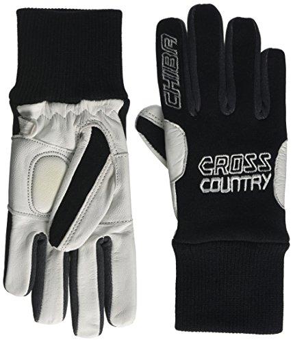 Chiba Kinder Nordic Leder Handschuhe, Kinder, Nordic Leather, schwarz, Size 3