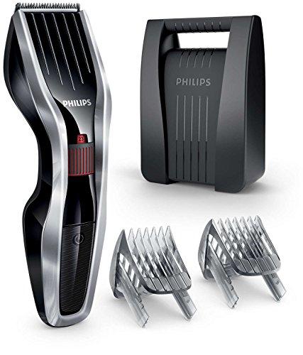 Philips Haarschneider mit Dual Cut Technologie HC5440/80, metallic-schwarz (Cut Haarschneider)
