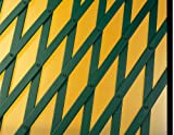 Catral Deutschland Rankgitter PVC ausziehbar 1,00 x 2 m, grün, 143 x 14 x 1 cm, 43060003