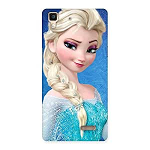 Special Wink Freez Princess Back Case Cover for Oppo R7