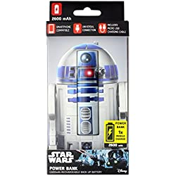 STAR WARS - POWER BANK 2600 mAh - R2-D2 : P.Derive