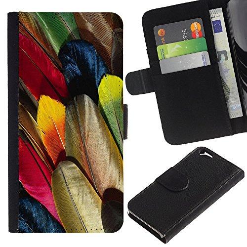 Graphic4You Niedlich Plastic Stars Design Brieftasche Leder Hülle Case Schutzhülle für Apple iPhone 6 / 6S Design #18