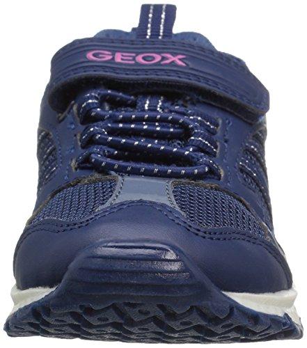 Geox - J Bernie Girl A, Scarpe da ginnastica Bambina Blu (Navyc4002)