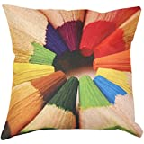Fundas Cojines Originales Diseño de Dibujos Geométricos Coloridos para Infantiles Habitación Cama Sofa Sillas