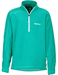 Marmot Rocklin 1/2 Zip Girls Turf Green 2017 Midlayer