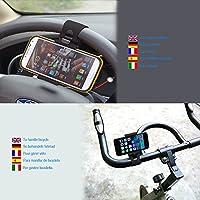 Color Dreams® Supporto per cellulare volante auto e supporto bici