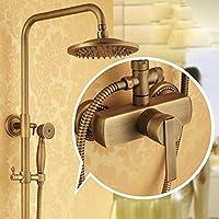 BL@ Europeo di ascensore antico rame doccia rubinetto set doccia