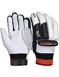 Kookaburra Blaze 100 Mens Kids Cricket Batting Gloves White/Black