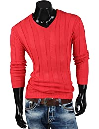 Tazzio pull en tricot pour homme avec gilet en tricot