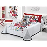 Colcha Bouti Music (Cama 105 cm, Color Unico)