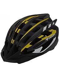 HYF-Aegis Ultra-luz de alta densidad espuma de espuma de montaña bicicleta casco de rueda de deslizamiento de casco deportes extremos equipo al aire libre integrado moldeado , M