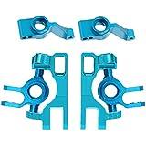 Gazechimp Portabicicleta Cargador de Eje de Dirección para RC 1:10 Traxxas Slash 4x4 - Azul