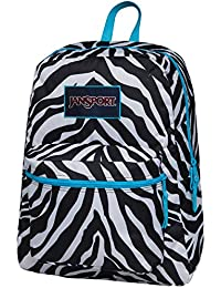 Jansport Overexposed Miss Zebra/Mammoth Blue T08W0CX