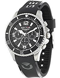 Sector Orologio da Uomo Cronografo al Quarzo con Cinturino in Silicone – R3251161002