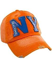 MFAZ Morefaz Ltd Men Women New Baseball Cap NY Outdoor Sport Jeans Hat Caps  Snap Back 39511fc5cf00