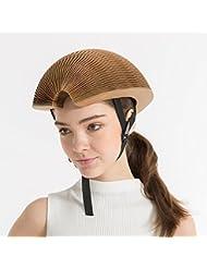 Protable plegable casco para bicicleta de papel reciclable uso compartido para bicicleta se aplican a los niños y adultos