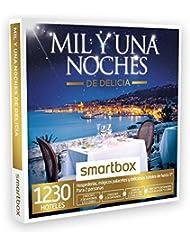 SMARTBOX - Caja Regalo - MIL Y UNA NOCHES DE DELICIA - 1230 hospederías, palacetes y hoteles de hasta 5* en España, Portugal y Francia