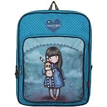 Gorjuss Hush Little Bunny Rucksack Backpack Bag