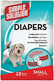 Enkel lösning engångs hundblöjor tupplurar medium – liten