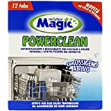 MR.MAGIC Pulitore lavastoviglie * 12 pz. - Détergent lave-vaisselle