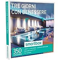 Smartbox - Cofanetto Regalo - TRE GIORNI CON BENESSERE - 350 soggiorni con benessere in hotel 3* e 4*