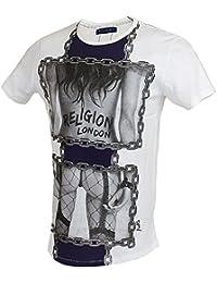 Religion - T-shirt - Homme Blanc Blanc