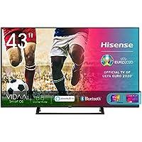 "Hisense 43AE7210F, Smart TV LED Ultra HD 4K 43"", Single Stand, HDR 10+, Dolby DTS, Alexa integrata, Tuner DVB-T2/S2 HEVC Main10 [Esclusiva Amazon - 2020]"