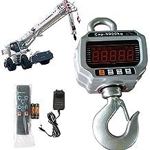 5000 kg/2 kg Báscula electrónica para Grúa 5T grúa Balanza colgante gancho Crane Escala