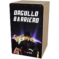 Cajón flamenco Beta mod. 'BARRIEROS' (Homenaje a El Barrio) - Caja de música personalizada. Percusión 100% abedul