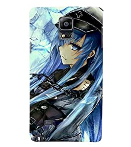 Printvisa Girl Dressed Like A Cowboy Back Case Cover for Samsung Galaxy Note 4 N910::Samsung Galaxy Note 4 Duos N9100