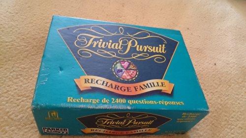 Trivial pursuit famille recharge 2400 questions